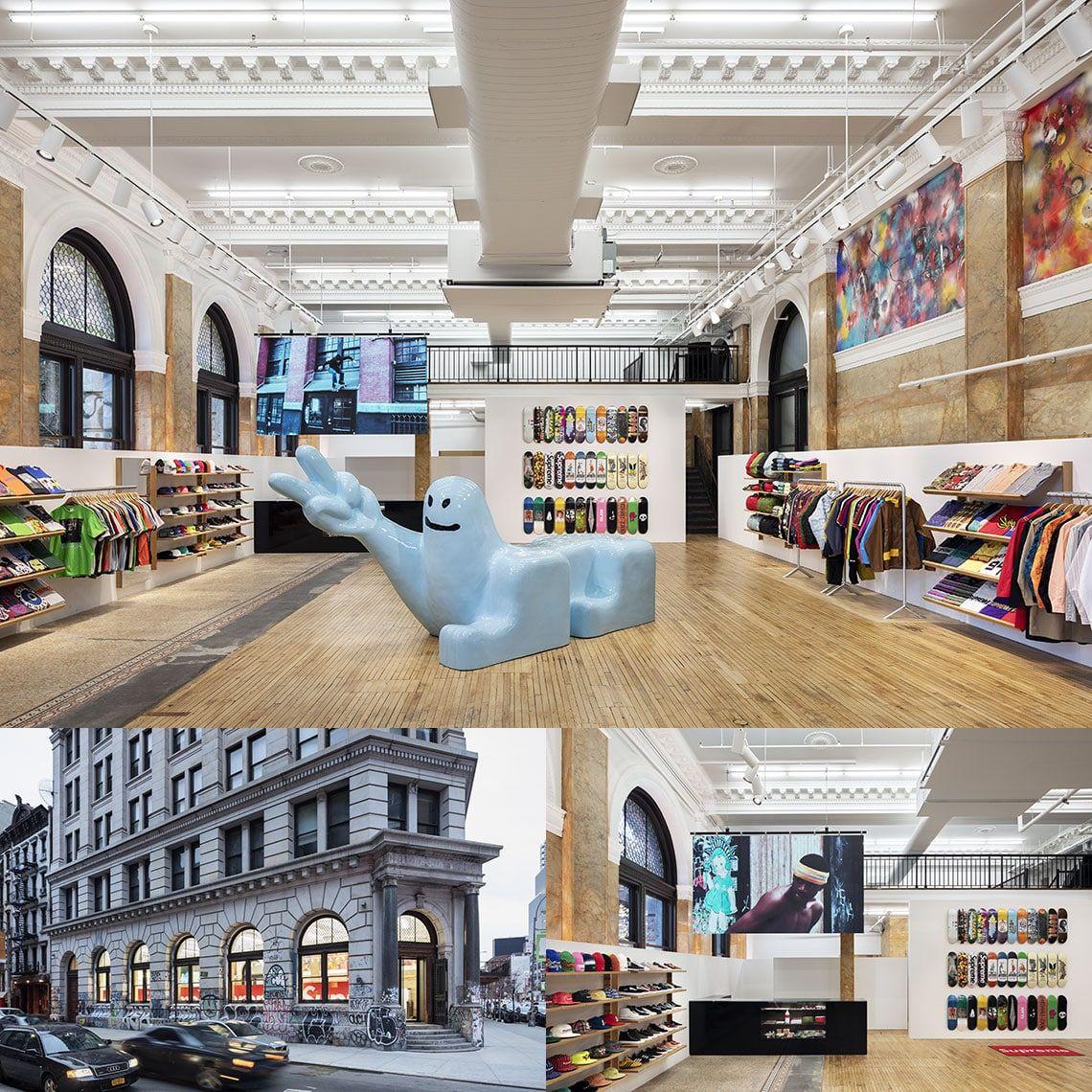 Photo de la boutique Supreme de New-York