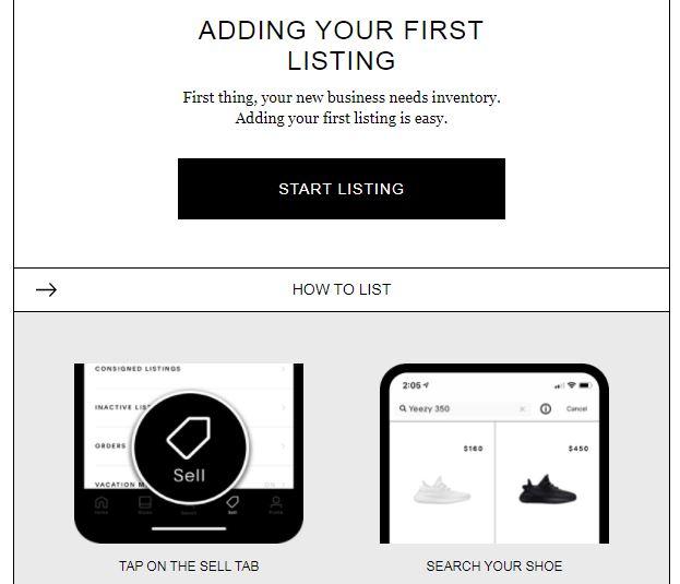 Capture d'écran du mail t'invitant à poster ta première annonce