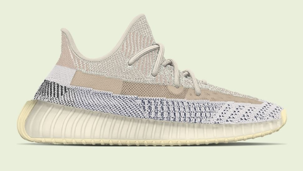 "Photo de la chaussure Adidas Yeezy Boost 350 V2 ""Ash Pearl"""