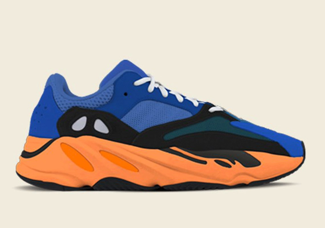Photo de la sneaker Adidas Yeezy Boost 700 Bright Blue